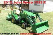 2012 John Deere 1023 E