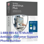 1-888-985-8273 McAfee Antivirus Customer Support Phone Number