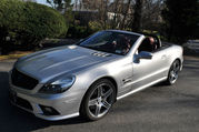 2009 Mercedes-Benz SL-Class Silver Arrow Edition