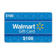 WIN A $100 WAL MART GIFT CARD!